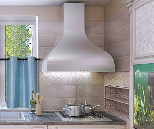 """GorgeousHomeLinen (N25) 1PC 30"""" X 36"""" Kitchen Antique Grommets Window Tier Curtain Panel Unlined Semi Sheerin Assorted Solid Colors (Light Blue)"""