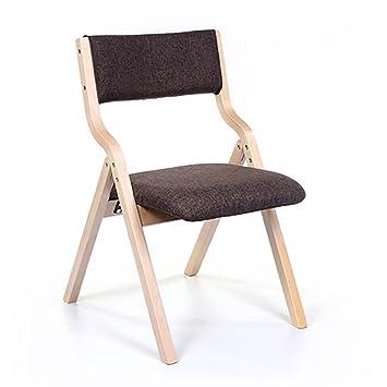 Stühle modern holz  Amazon.de: Stuhl Tuchstühle Haushalt modern einfach Nordic Esszimmer ...