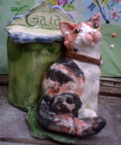 - WhimciClay Custom Animal Urn