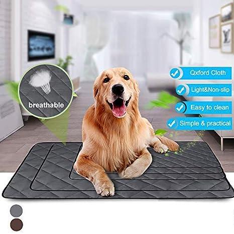 IVYSHION Alfombrilla para Mascotas Cama de Perro y Gato para Verano Colchonetas para Camas para Perros Manta de Dormir Fresco