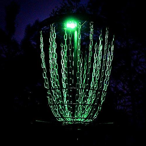 MVP Disc Sports Lunar Module LED Disc Golf Basket Light