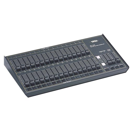 Leviton N7016-D00 16/32 Channel Console, 2 Manual Presets, 16 Memory scene, NSI Micro-Plex with DMX (Lighting Console Scene)