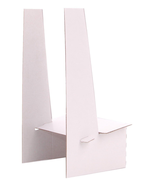 JR Distribution Limited - Expositor de sobremesa de cartón (10 unidades), color blanco: Amazon.es: Oficina y papelería