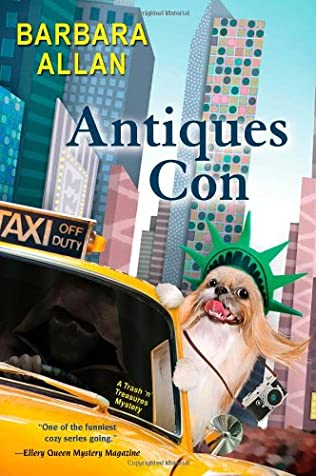 book cover of Antiques Con