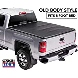Gator ETX Soft Tri-Fold Truck Bed Tonneau Cover | 59111 | Chevy Silverado/GMC Sierra 8' bed, 2014 - 2018, 2019 Limited/Legacy only | MADE IN THE USA