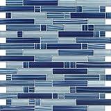 Premium Quality Cobalt Blue 3x6 Glass Subway Tile for Bathroom