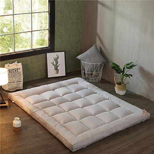 Fantastic Deal! LJ&XJ Collapsible Thick Tatami Mattress, Ultra Soft Breathable Japanese Futon Floor ...