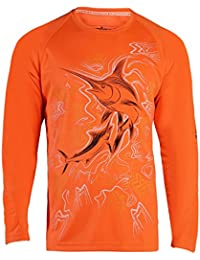 Men's King Marlin | Long Sleeve | Vented | UV Sun Protection | Performance Fishing Shirt