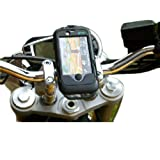 Motorcycle Bike Mount with Waterproof TOUGH CASE for the Apple iPhone 4 Smartphone