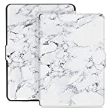 Ayotu Colorful Case for Kindle Paperwhite Auto Wake/Sleep Smart Protective Cover - Fits All Paperwhite Generations Prior to 2018(Not Fit All-New Kindle Paperwhite 10th Gen) K5-09 The Marble Pattern