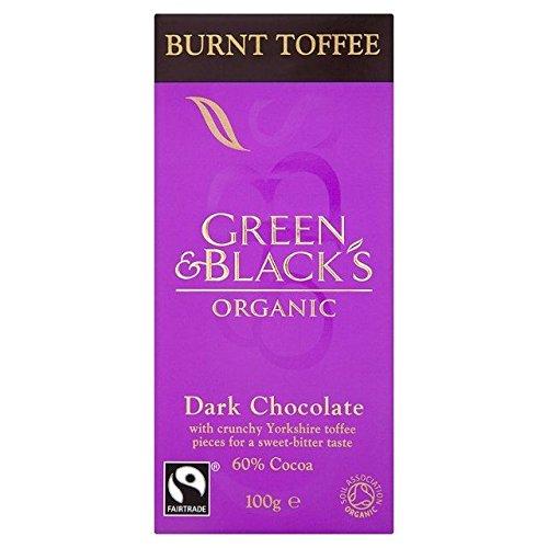 - Green & Black's Organic Burnt Toffee Dark Chocolate - 100g