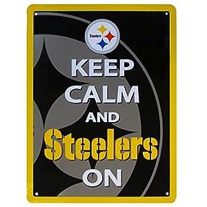 NFL Pittsburgh Steelers Keep Calm Sign at SteelerMania