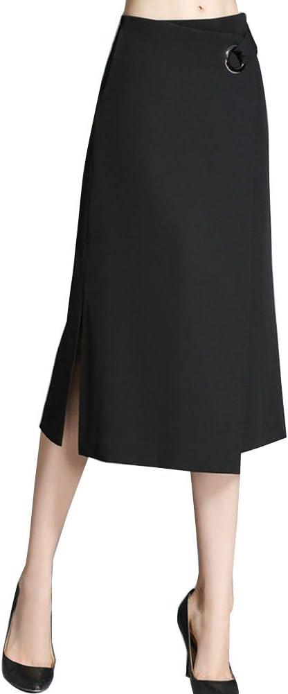 Mujer Maxi Falda Elástica Tallas Grandes Faldas De Fiesta Suelta ...