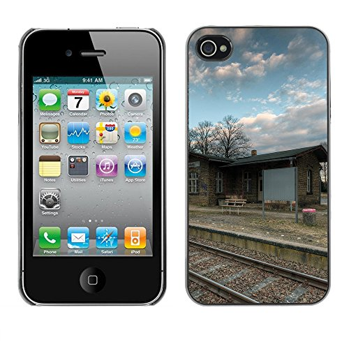 Premio Sottile Slim Cassa Custodia Case Cover Shell // F00029298 Gare // Apple iPhone 4 4S 4G