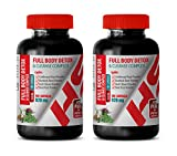 cleanse max ii - Detox and Cleanse - Full Body Detox and Cleanse Complex 920 MG - Milk Thistle max Strength - 2 Bottles 200 Capsules