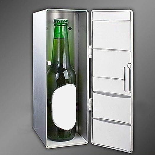 SHOH Frigorífico Portátil USB Mini Refrigerador Bebida Cerveza ...