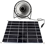 Solar fan 10W power for Cooling Cool Fan for Home Office Camping garten