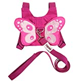 Baby : EPLAZA Baby Toddler Walking Safety Butterfly Belt Harness with Leash Child Kid Assistant Strap (a)