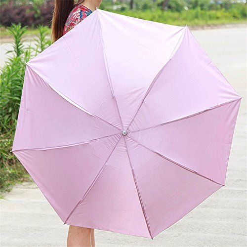 XENO-Anti-UV Lady Women Flouncing Princess Dome Parasol Sun/Rain Foldable - Harbor Sky Map