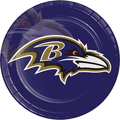 Ravens Baltimore Paper (Baltimore Ravens Paper Plates, 24 ct)