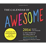 2014 Daily Calendar: Calendar of Awesome