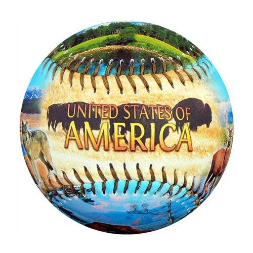EnjoyLife Inc America Natural Wonders Souvenir Baseball