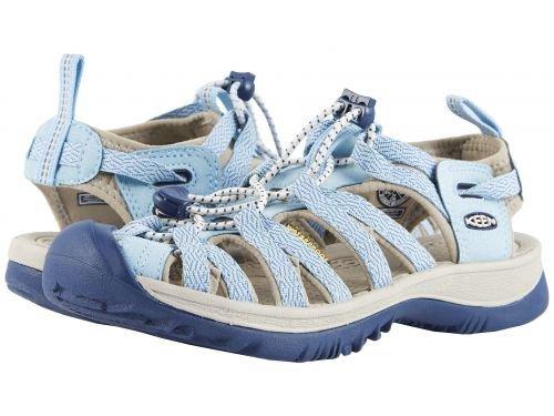 Keen(キーン) レディース 女性用 シューズ 靴 サンダル Whisper - Sterling Blue/Dress Blue 7 B - Medium [並行輸入品]