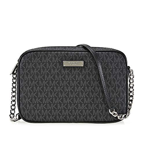 (Michael Kors Jet Set Item Large East West Crossbody - Black - 32S7SJSC7B-001)