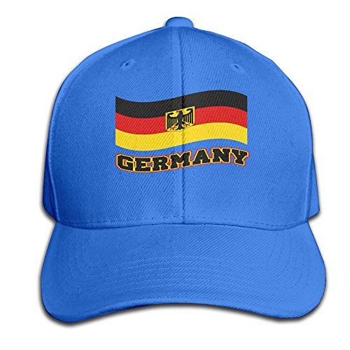 Germany Waving Flag Deutschland Pride Adjustable Baseball Cap (Designer Online Shop Deutschland)