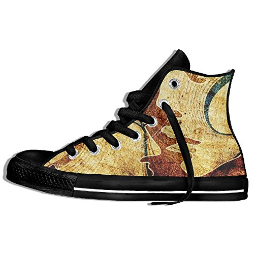 Portrait Wallpapers High Top Sneakers Canvas Shoes Design Sport Shoes Hot Dance Unisex Style Size 35