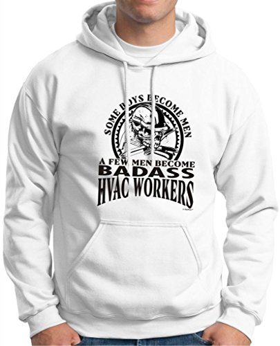 A Few Men Become HVAC Workers Hoodie Sweatshirt