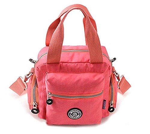 Waterproof Women's Handbag Pink Travel Shoulder Nylon Fansela Crossbody Single TM Light Tote Green xqw5t4zZ4