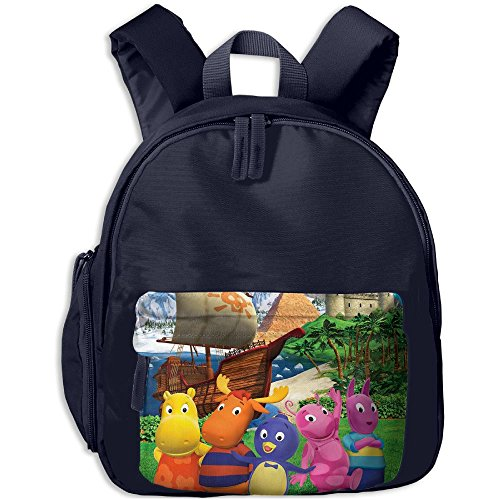 Children The Backyardigans Preschool Lunch Bag Navy by Fashion Theme Tshirt
