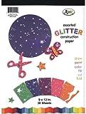 Glitter Construction Pad - 30 sheets - 9'' x 12'' 48 pcs sku# 1281350MA