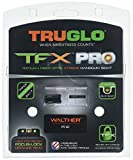 TRUGLO TG13WA4PC TFX Pro Tritium/Fiber Handgun Sight - Walther PPS/M2