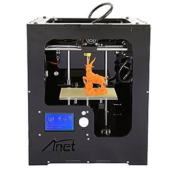 Anet A3 Versión Nueva impresora 3d alta precisión FDM Desktop DIY ...