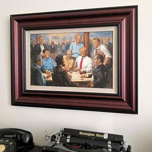 - A Simpler Time The Republican Club Framed Open Edition Print