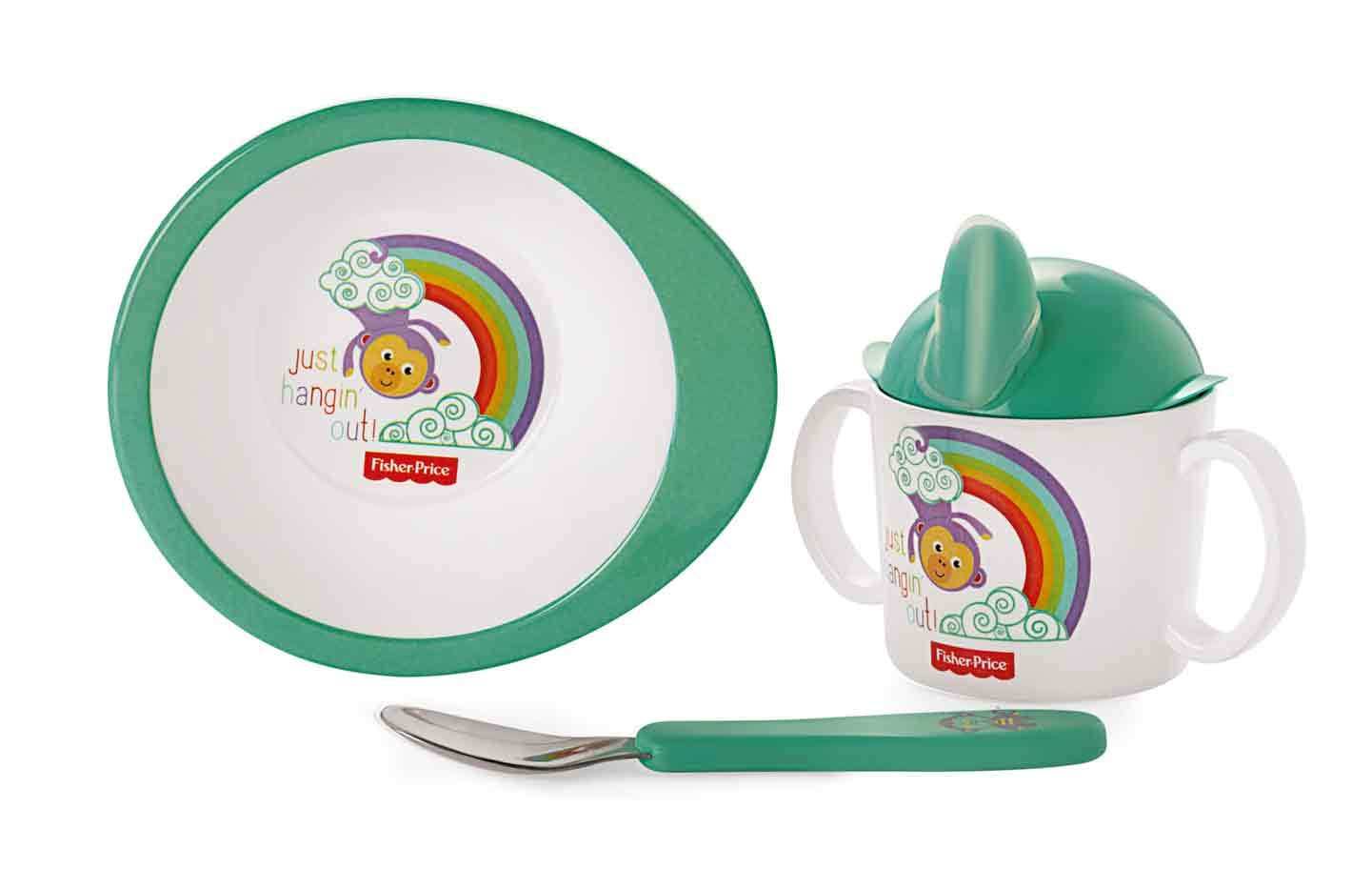 Cello Melmoware Kids Fisher Price Set, Set of 3, Just Hang in Out Design