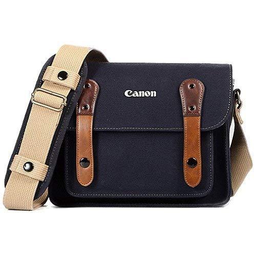 rless Pocket Shoulder Bag Case 3355 Navy for Lens EOS M M2 M3 100D 400D 450D 500D 550D 600D 650D 700D 750D ()