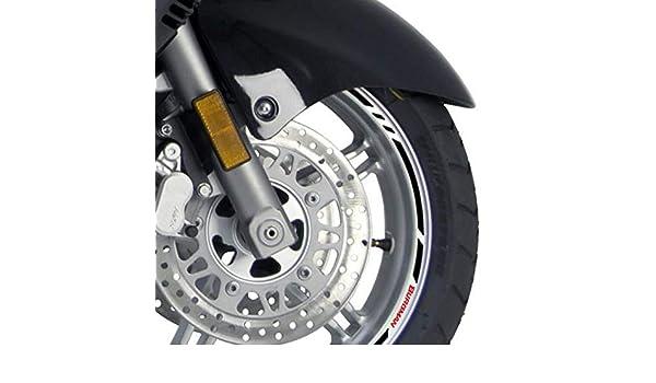 1 Cinta Adhesiva para Ruedas Suzuki Burgman 650 06-19 con Logos: Amazon.es: Coche y moto