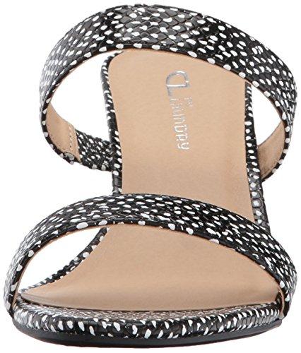 Cl Av Chinese Laundry Womens Juliett Kjole Sandal Black Snake