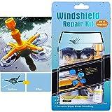 Do-It-Yourself Auto Windshield Crack Repair Kit – Windshield Repair Kit for Car Windscreen, Glass Rock Chip, Bulls Eye, Star, Half Moon Repair