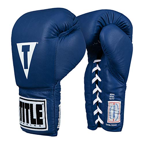 Title USA Boxing Competition Gloves (Lace)