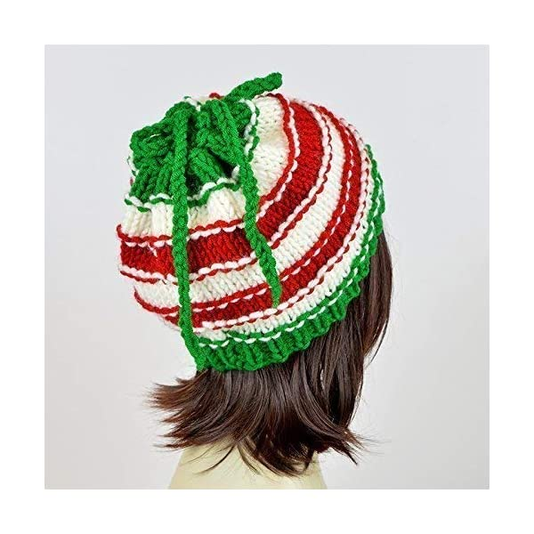 375ae15a8 Christmas Hat Ponytail Hat With Hole Santa Claus Knit Hat Christmas Scarf  Knit Beanie Hole Hat Ponytail Beanie With Hole Knit Santa Hat Xmas Mütze ...