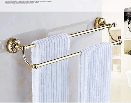 Toallero europeo,barras de toalla de doble polo/Baño/Barra de ...
