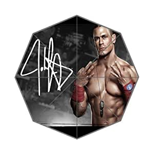 John Cena Custom Auto Foldable Sun Rain Anti-UV Umbrella Fashion Design