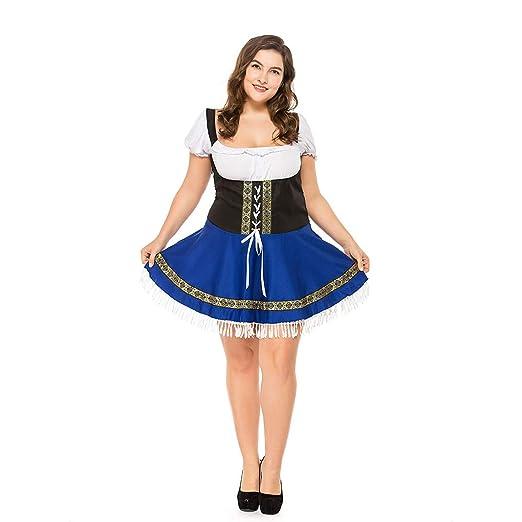 Traje de mucama Oktoberfest Disfraz de Fat Fat Cosplay para ...