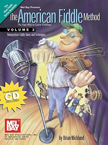 American Fiddle Method, Vol. 2 (Book/CD Set)