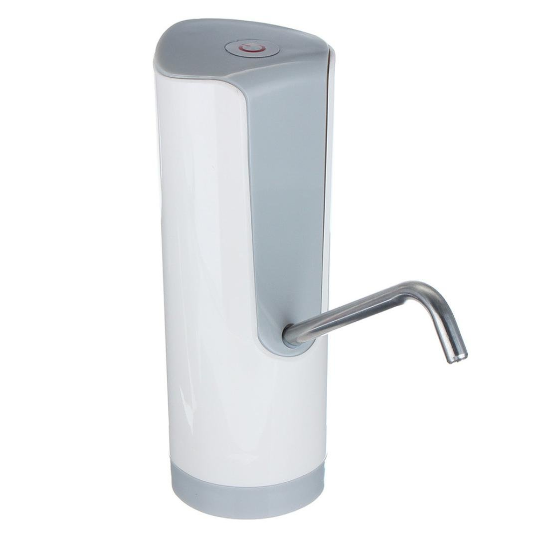 Sacow Water Pump Dispenser, Wireless Automatic Electric Gallon Bottle Drinking Water Pump Switch (White) by Sacow (Image #4)