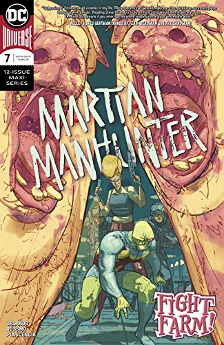 Amazon.com: Martian Manhunter (2018-) #7 eBook: Steve ...